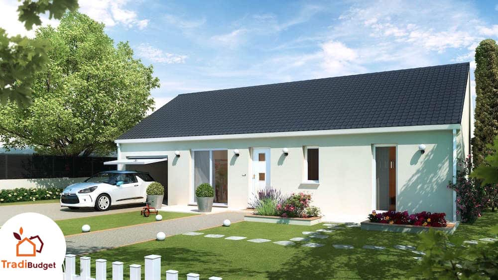 Plan de maison mod le simply 80 for Modele maison 2016