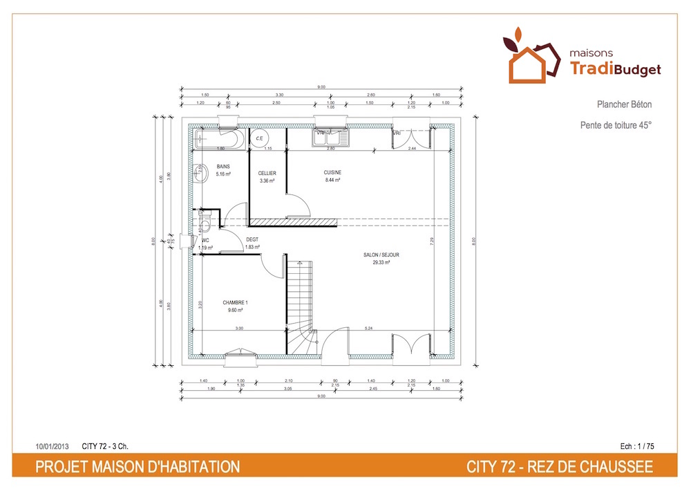 Plan City cosy 72