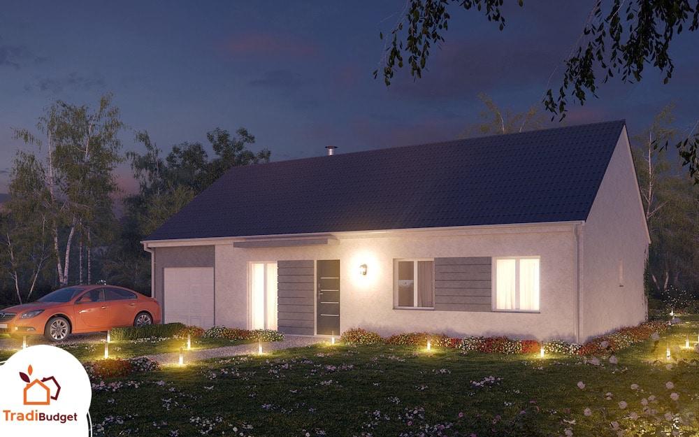 Tradibudget maison Modele Maison Styl Habitat Opale_ A_Nuit_0001