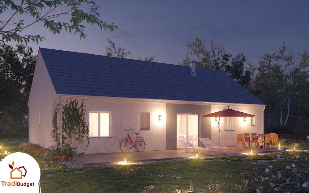 Tradibudget maison Modele Maison Styl Habitat Opale_A_2-1 Nuit