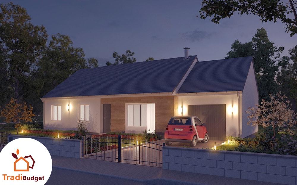 Tradibudget maison Modele Maison Styl Habitat Rubis_HD_Nuit_0000
