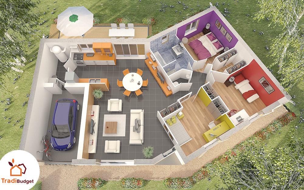 Tradibudget maison Quartz_AXO