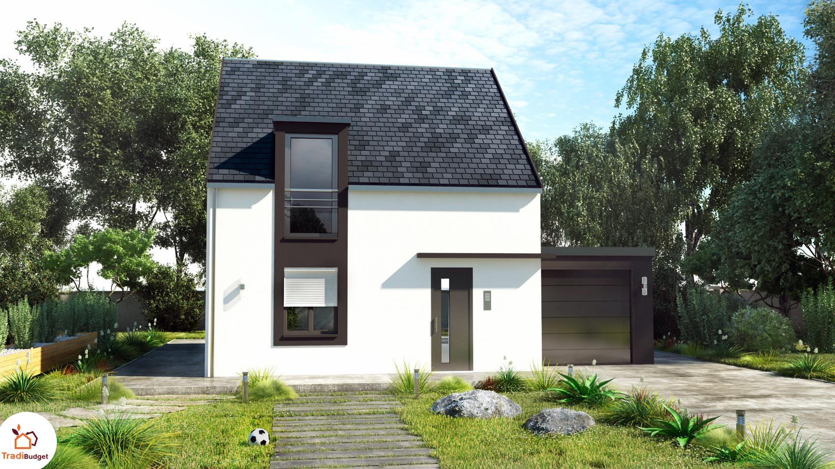 Dynamique   maison persnnalisable avec mezzanine
